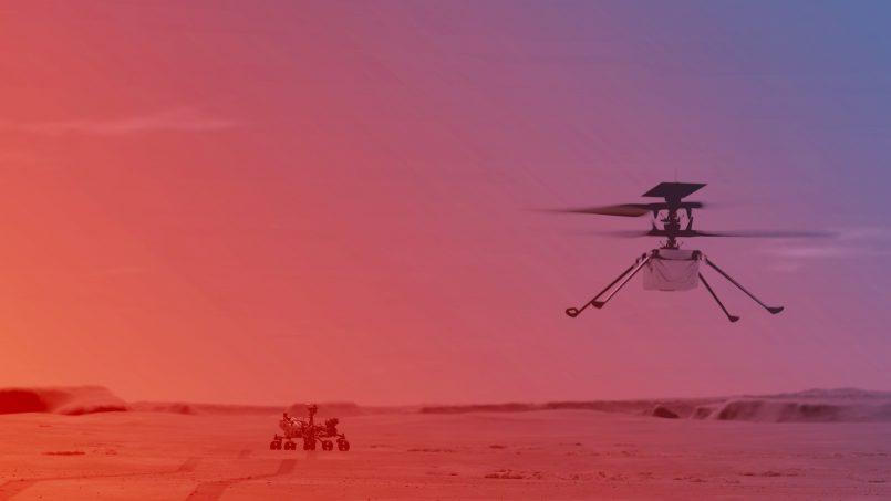 Helikopter Ingenuity Pada Perayau Perseverance Akan Mula Terbang Seawal 8 April