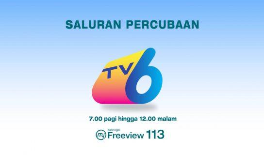 RTM Menguji Siaran Saluran Baharu – TV6