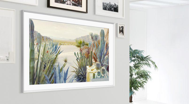 Hiasi Ruang Tamu Dengan Hasil Seni Menggunakan Samsung The Frame