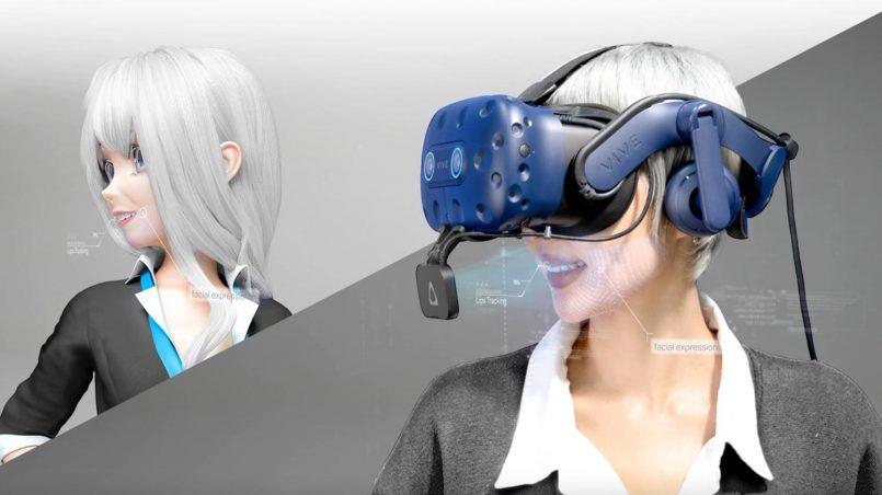HTC Melancarkan Vive Facial Tracker Untuk Vive Pro