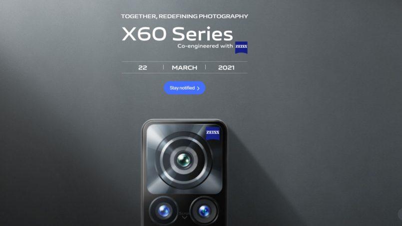 Siri Vivo X60 Bakal Dilancarkan Di Malaysia Pada 22 Mac 2021