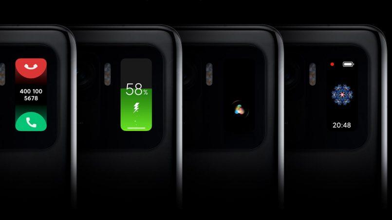 Skrin Sekunder Xiaomi Mi 11 Ultra Sebenarnya Diambil Dari Mi Band 5