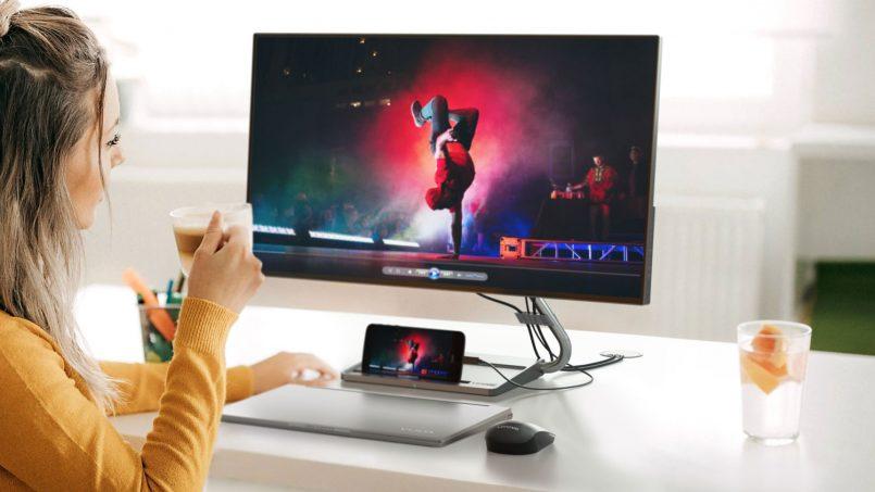 Lenovo Qreator 27 Dilengkapi Dermaga Pengecasan Nirwayar Dilancarkan Pada Harga RM 2559