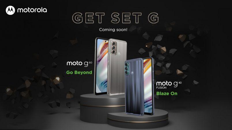 Motorola Moto G60 Dan Moto G40 Fusion Diperlihatkan Menerusi Poster Rasmi
