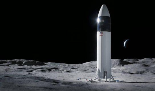 SpaceX Memenangi Kontrak RM 12 Bilion Membina Roket Misi Ke Bulan NASA