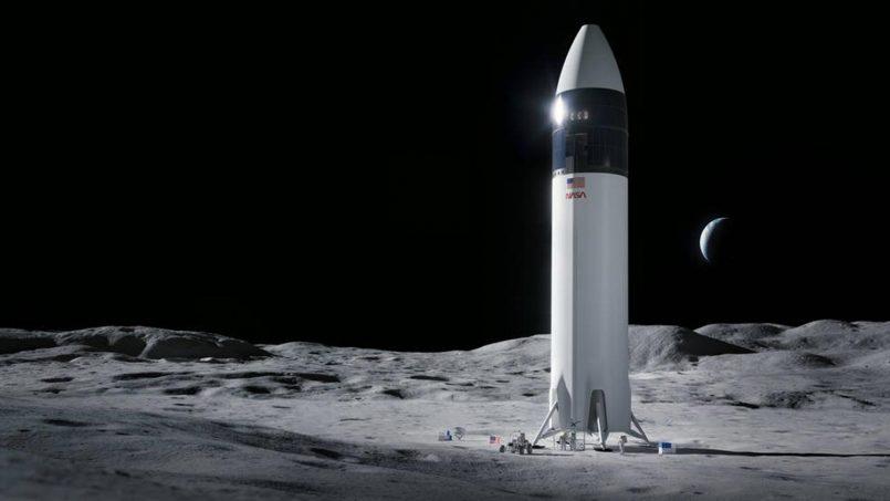 NASA Menggantung Kontrak Misi Ke Bulan SpaceX Selepas Diprotes Pesaing