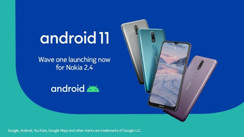 Nokia 2.4 Mula Menerima Kemas Kini Android 11