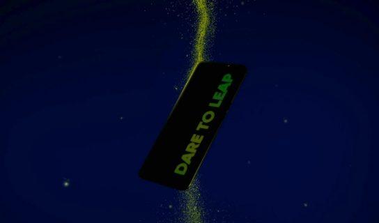 """Realme Q3 Akan Hadir Dengan Panel Belakang Dengan Tulisan """"Dare To Leap"""" Yang Menyala Dalam Gelap"""
