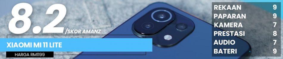 Ulasan Xiaomi Mi 11 Lite – Ringan Pada Nama, Berat Pada Nilai 19