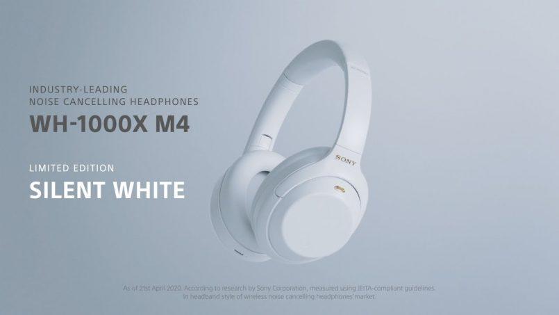 Sony Memperkenalkan Sony WH-1000XM4 Edisi Terhad Silent White – Akan Memasuki Pasaran Tempatan Pada Bulan Mei Kelak Pada Harga RM1799