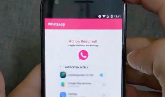 """Berhati-Hati Dengan Perisian Hasad """"WhatsApp Pink"""""""