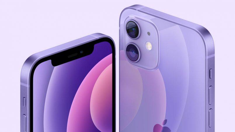 iPhone 12 Mini Ungu