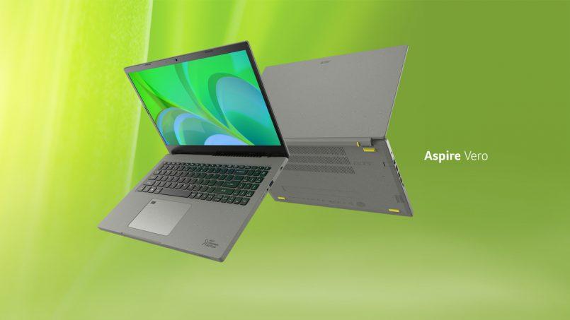 Acer Aspire Vero Diperkenalkan Dengan Binaan Berasaskan Produk Kitar Semula – Komputer Mesra Alam
