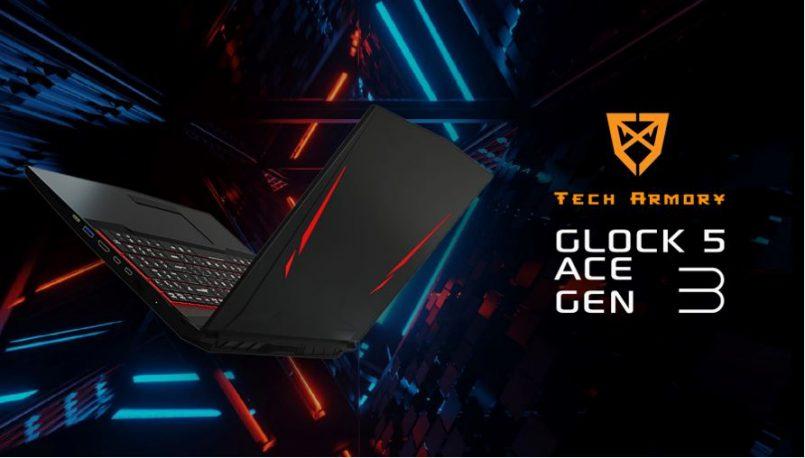 Tech Armory Melancarkan Glock 5 Ace Gen 3 – Komputer Riba Gaming Dengan Ciri Menukar CPU Pada Harga RM5999