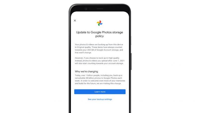 Google Memperkenalkan Alatan Untuk Mengurus Storan Google Photos Anda