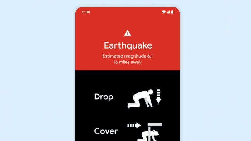 Sistem Pengesan Gempa Bumi Android Diaktifkan Di Dua Lagi Negara