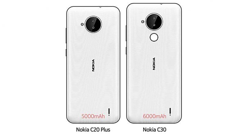 (Ura-Ura) Nokia C20 Plus Dan C30 Dijangka Hadir Dengan Bateri Besar, Dwi Kamera Utama