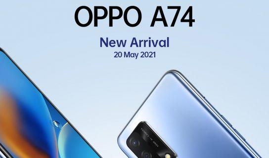 Oppo A74 4G Bakal Ditawarkan Di Malaysia Tidak Lama Lagi