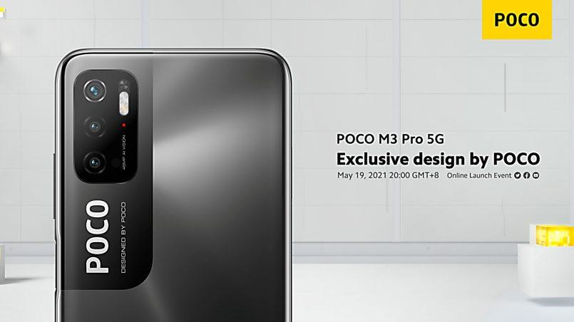 Rekaan Poco M3 Pro 5G Dikongsi Menerusi Poster Rasmi
