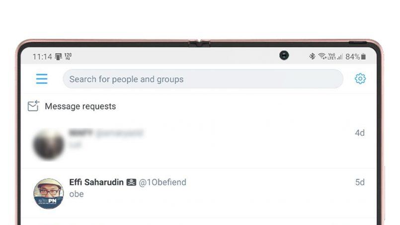 Twitter Memperkenalkan Fungsi Carian Mesej Peribadi Untuk Pengguna Android