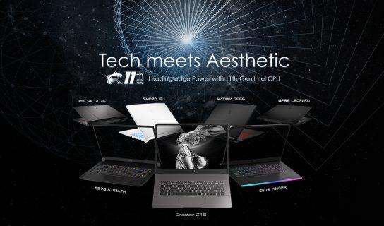 MSI Mengemaskini Siri Komputer Riba Gaming Dan Produktiviti Mereka Dengan CPU Intel Tiger Lake-H