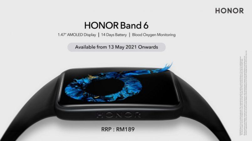 Honor Band 6 Juga Rasmi Di Pasaran Malaysia Pada Harga RM189