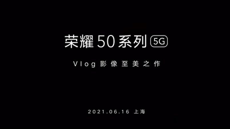 Siri Honor 50 Bakal Dilancarkan Pada 16 Jun 2021