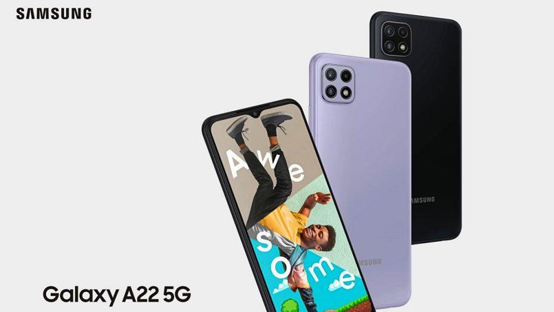 Samsung Galaxy A22 LTE Dan Galaxy A22 5G Diumumkan – Skrin 90Hz, Kamera Utama 48MP, Bateri 5000mAh