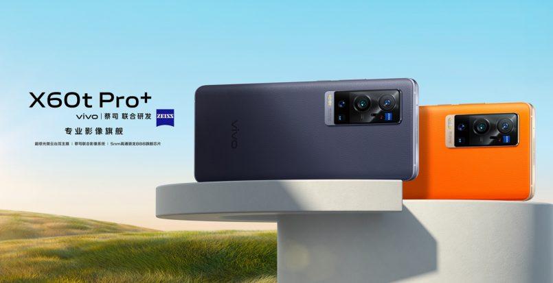 Vivo X60t Pro+ Hadir Dengan Cip Snapdragon 888 Dan Kamera 50MP