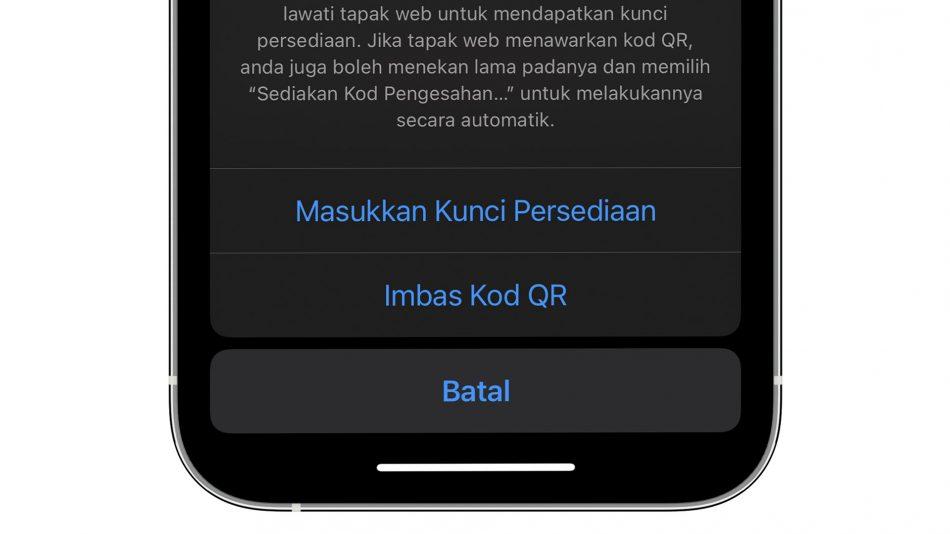 iOS 15 Boleh Menjana Kod Pengesahan Dwi-Faktor Tanpa Aplikasi Seperti Google Authenticator 4