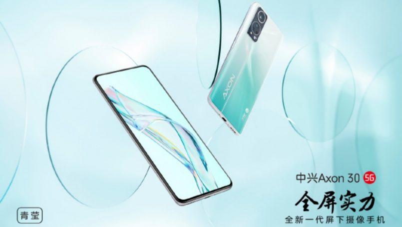 ZTE Axon 30 5G Dilancarkan – Cip Snapdragon 870, Skrin 120Hz, Kamera Bawah Skrin