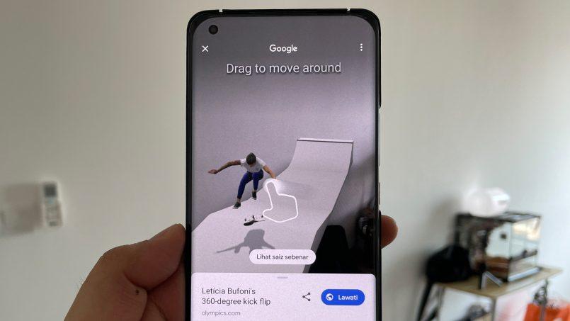 6 Atlet Olimpik Tokyo 2020 Kini Boleh Dilihat Dalam Bentuk Realiti Terimbuh Pada Aplikasi Google