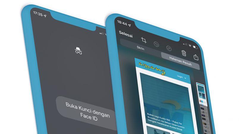 Google Chrome 92 Pada iOS Menyokong Tangkapan Layar Halaman Penuh Dan FaceID Untuk Tab Inkognito