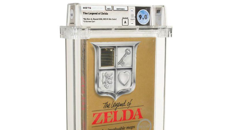Katrij The Legend of Zelda Menjadi Permainan Video Paling Mahal Pernah Dijual