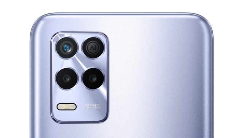 Imej Pengolokan Realme 8s Tertiris – Akan Dilengkapi Tri-Kamera Belakang