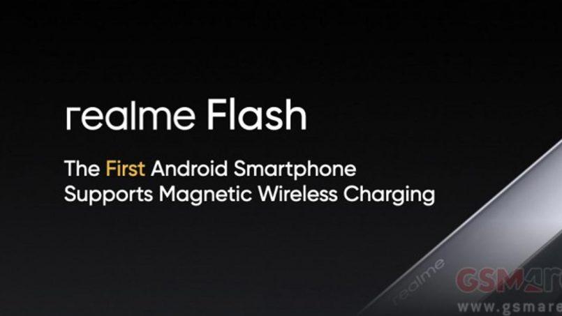 Realme Flash Ialah Peranti Android Pertama Dengan Sistem Pengecasan Nirwayar Bermagnet
