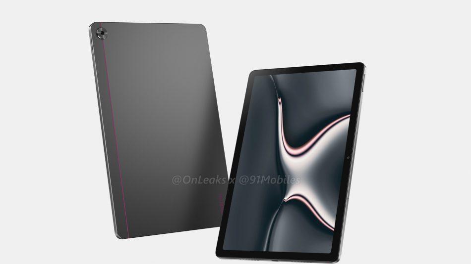 Imej Pengolokan Realme Pad Tertiris – Rekaan Mirip iPad Pro 2020 3