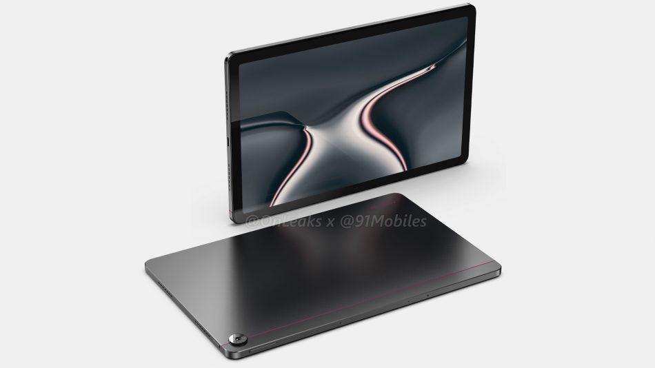 Imej Pengolokan Realme Pad Tertiris – Rekaan Mirip iPad Pro 2020