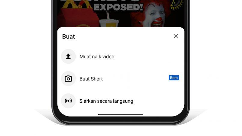 Anda Kini Boleh Gunakan YouTube Shorts Di Malaysia – Satu Lagi Pesaing TikTok