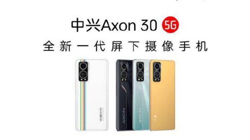 ZTE Axon 30 5G Akan Dilancarkan Pada 27 Julai