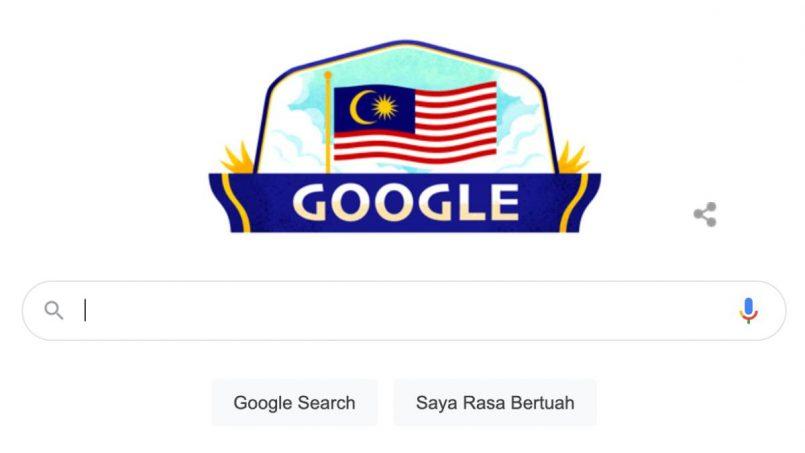 Google Doodle Merdeka 64