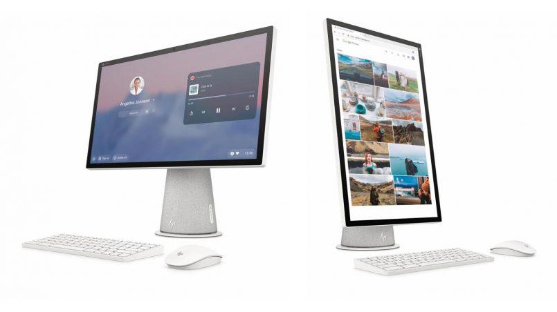 HP Chromebase Ialah AIO Dengan Skrin Yang Boleh Diputar Menegak