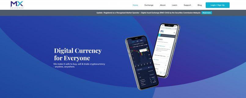 MX Exchange Kini Platform Pertukaran Aset Digital Rasmi Terbaru Di Malaysia