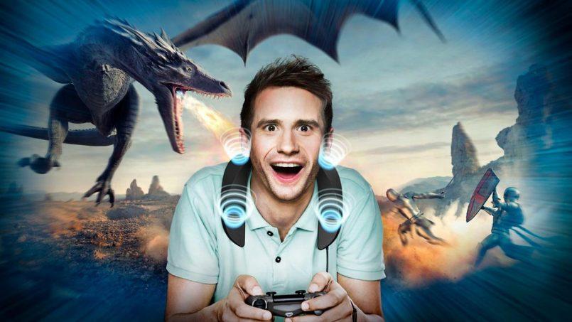 Panasonic SoundSlayer WIGSS Ialah Speaker Untuk Gaming Yang Digantung Ke Leher
