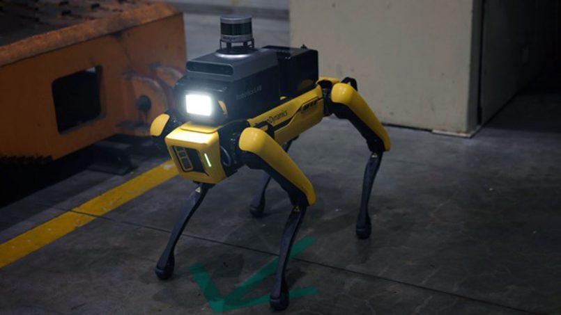 Robot Spot Kini Digunakan Untuk Pemantauan Keselamatan Di Kilang Kia