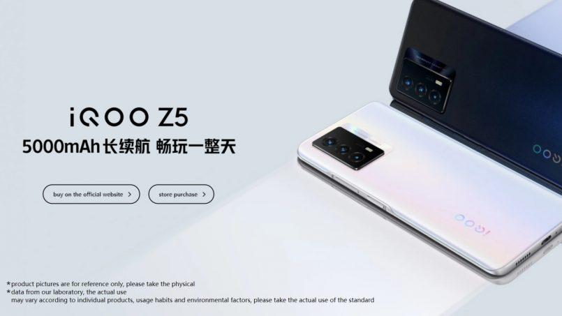 iQOO Z5 Kini Rasmi – Cip Snapdragon 778G, Kamera 64MP, Bateri 5000mAh