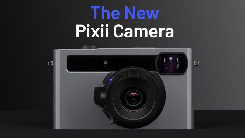 Kamera Pixii Yang Direka Untuk Digunakan Bersama Telefon Pintar Dikemaskini Dengan Sensor 26MP