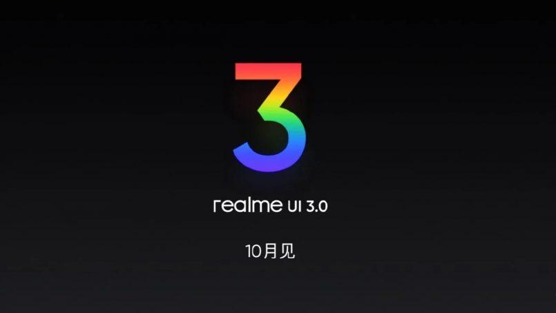 Realme UI 3.0 Akan Dilancarkan Pada Bulan Oktober Akan Datang