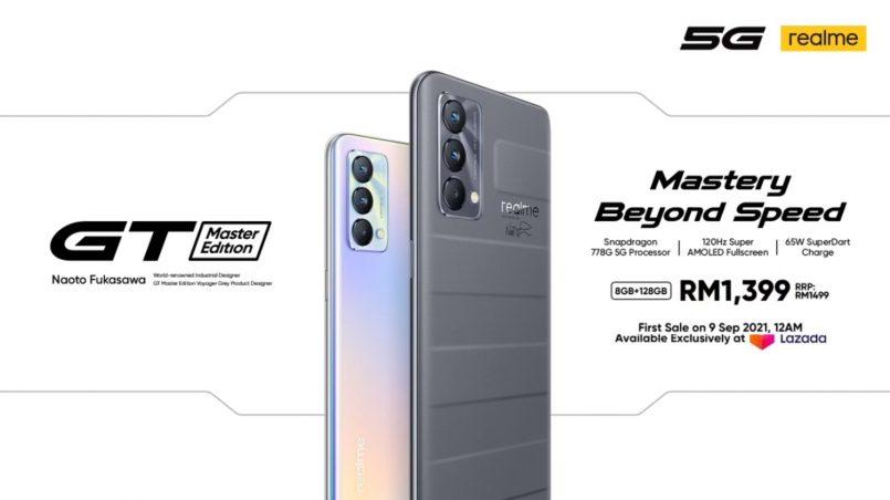 Realme GT Master Edition Kini Di Malaysia – Harga Bermula RM1399