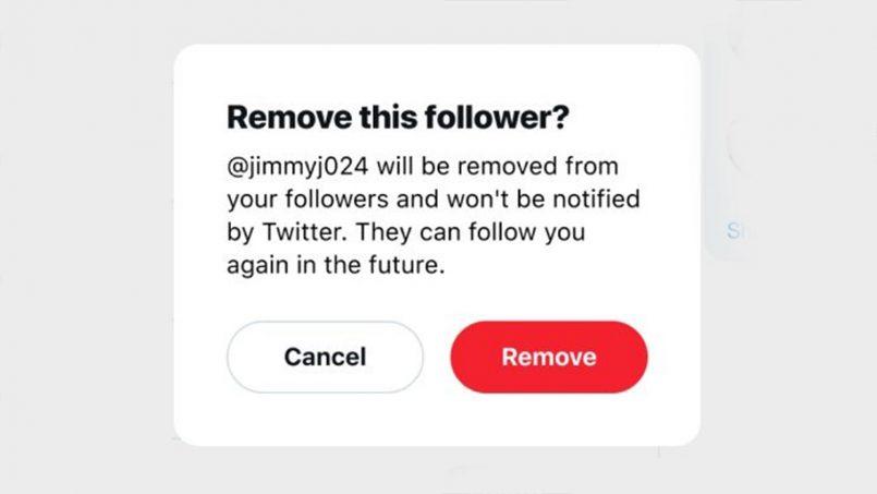 Twitter Juga Menguji Ciri Membuang Pengikut Tanpa Perlu Dihalang